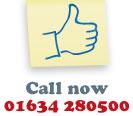 Call us on 01634 280500